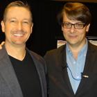 Steve G. Jones with Igor Ledochowski who studied conversational hypnosis by Milton Erickson