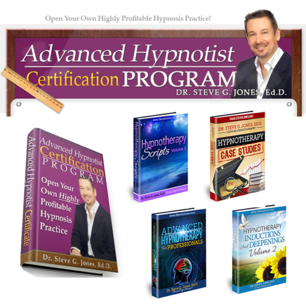 Advanced online hypnotist certification course books