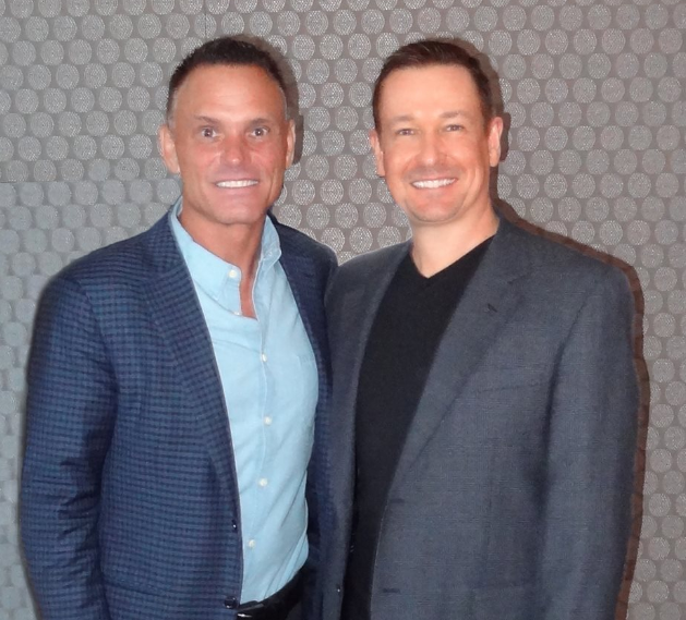 Steve G. Jones with Kevin Harrington
