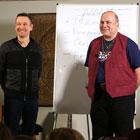Steve G. Jones and Joe Vitale of The Secret