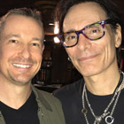 Steve G. Jones with Steve Vai