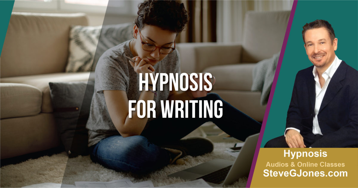 Hypnotherapy Writer's Block | Dr. Steve G. Jones