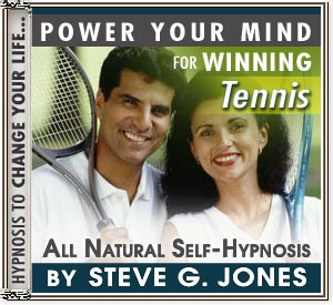 CD or MP3 to Power Your Mind  to Win at Tennis