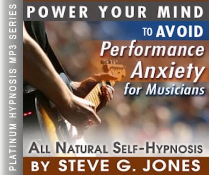 Performance Anxiety for Musicians Hypnosis MP3