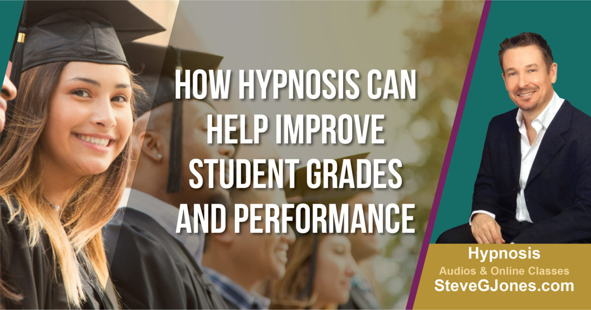 Hypnosis for Student Grades | Dr. Steve G. Jones