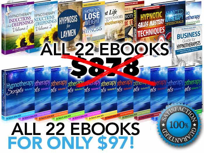 All 22 Hypnotherapy eBooks