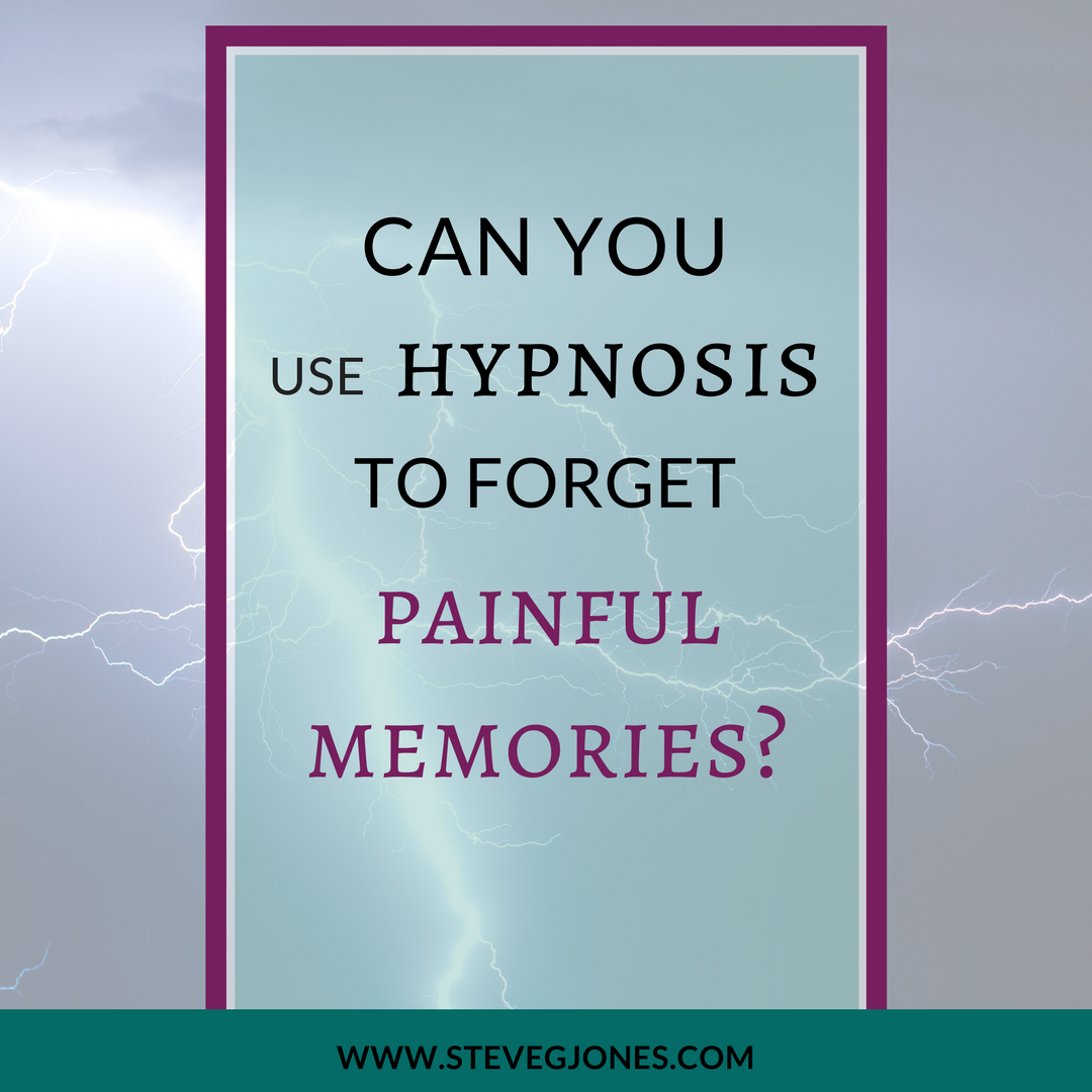 Can you be hypnotised to forget someone