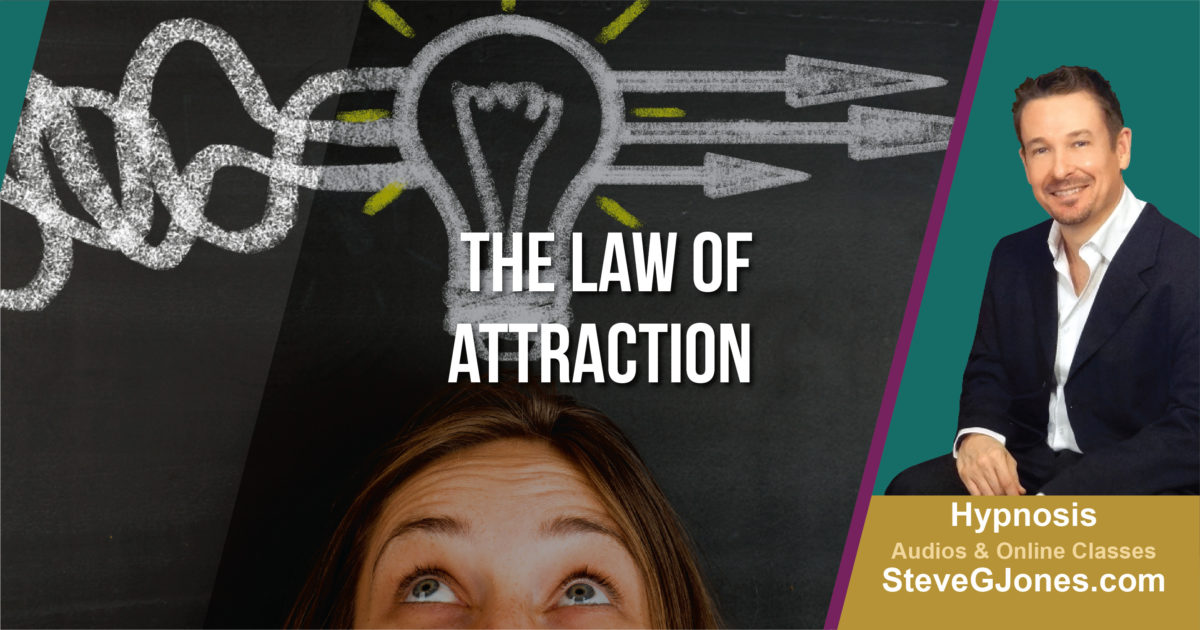 Law of Attraction LOA Hypnosis | Dr. Steve G. Jones
